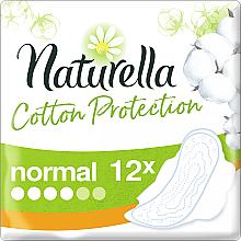 Parfums et Produits cosmétiques Serviettes hygiéniques, 12 pcs - Naturella Cotton Protection Ultra Normal