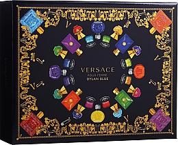Parfums et Produits cosmétiques Versace Pour Femme Dylan Blue - Coffret (eau de parfum/50ml + lotion pour corps/50ml + gel bain et douche/50ml)