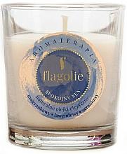Parfums et Produits cosmétiques Bougie parfumée, Sommeil paisible - Flagolie Fragranced Candle Rest Sleep