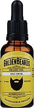 Parfums et Produits cosmétiques Huile à l'huile de patchouli pour barbe, Big Sur - Golden Beards Beard Oil