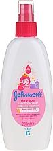 Parfums et Produits cosmétiques Après-shampoing en spray à l'huile d'argan - Johnson's Baby