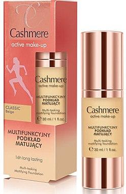 Fond de teint matifiant multifonctionnel - Dax Cashmere Active Make-Up Mattifying Foundation