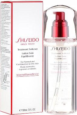 Lotion soin équilibrante pour peaux normales à grasses et mixtes - Shiseido Treatment Softener