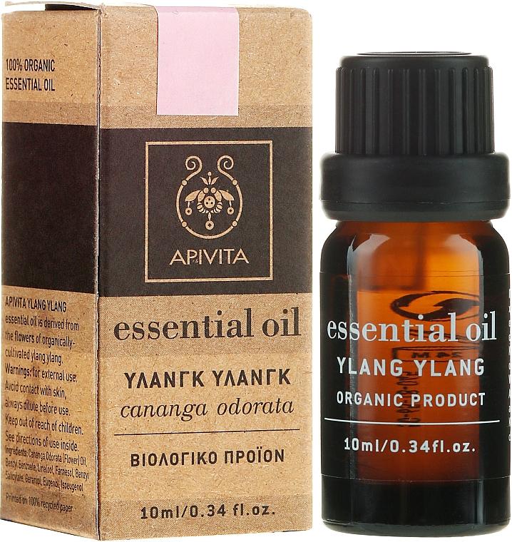Huile essentielle d'ylang-ylang bio 100% naturelle - Apivita Aromatherapy Organic Ylang-Ylang Oil  — Photo N1