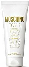 Parfums et Produits cosmétiques Moschino Toy 2 - Gel bain et douche parfumé