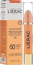 Parfums et Produits cosmétiques Soin solaire à l'acide hyaluronique pour le conour des yeux - Lierac Sunissime Protective Eye Care Anti-Age Global SPF50
