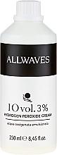 Parfums et Produits cosmétiques Crème oxydante 3% (usage professionnel) - Allwaves Cream Hydrogen Peroxide 3%