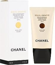 Parfums et Produits cosmétiques Soin auto-bronzant à l'extrait de lys blanc pour visage - Chanel Precision Soleil Identite Soin Auto-Bronzant Spf 8