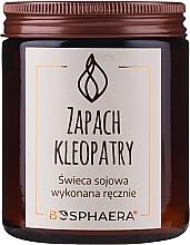 Parfums et Produits cosmétiques Bougie parfumée de soja, Le parfum de Cléopâtre - Bosphaera The Scent of Cleopatra Candle