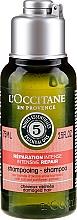 Parfums et Produits cosmétiques Shampooing réparation intense pour cheveux abîmés - L'Occitane Aromachologie Intense Repairing Shampoo (mini)
