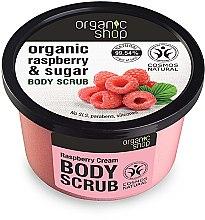 Parfums et Produits cosmétiques Gommage au sucre et extrait de framboise pour corps - Organic Shop Body Scrub Organic Raspberry & Sugar
