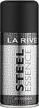 Parfums et Produits cosmétiques La Rive Steel Essence - Déodorant spray