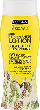 Lotion corporelle au beurre de karité et citronnelle - Freeman Feeling Beautiful Replenishing Body Lotion Shea Butter & Lemongrass — Photo N1