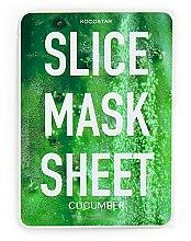 Parfums et Produits cosmétiques Masque tissu en tranches à l'extrait de concombre pour visage - Kocostar Slice Mask Sheet Cucumber