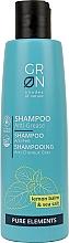 Parfums et Produits cosmétiques Shampooing Mélisse et sel de mer - GRN Pure Elements Anti-Grease Shampoo