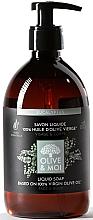 Parfums et Produits cosmétiques Savon liquide à l'huile d'olive pour visage et corps, Eucalyptus  - Saryane Olive & Moi Liquid Soap