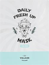 Parfums et Produits cosmétiques Masque tissu à l'extrait d'arbre à thé pour visage - Village 11 Factory Daily Fresh Up Mask Tea Tree