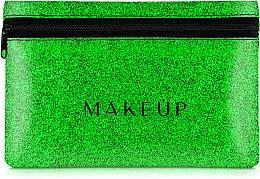 Parfums et Produits cosmétiques Trousse de toilette en silicone, Glitter Pouch, vert - MakeUp