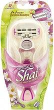 Parfums et Produits cosmétiques Système de rasage avec 6 lames de rechange - Dorco Shai 3+3