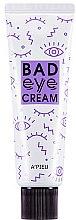 Parfums et Produits cosmétiques Crème nourrissante pour le contour des yeux - A'pieu Bad Eye Cream For Face
