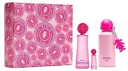 Parfums et Produits cosmétiques Tous Kids Girl - Coffret (eau de toilette/100ml + eau de toilette mini/4ml + bouteille)