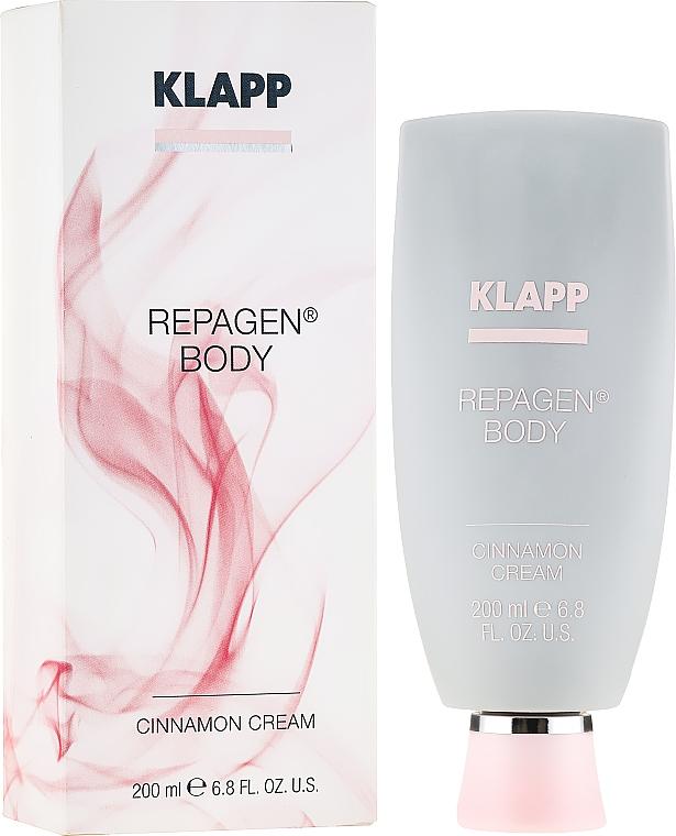 Crème à l'huile de feuille de cannelle pour corps - Klapp Cosmetics Repagen Cinnamon Cream — Photo N1