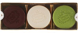 Parfums et Produits cosmétiques Set de savons - Essencias De Portugal Senses Golden Edition (savon/3x50g)
