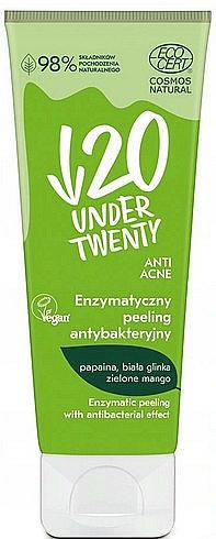 Gommage vegan enzymatique et anti-acné pour visage - Under Twenty Anti Acne Antibacterial Enzymatic Peeling