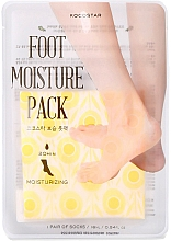 Parfums et Produits cosmétiques Chaussettes-masque pour pieds - Kocostar Foot Moisture Pack Yellow