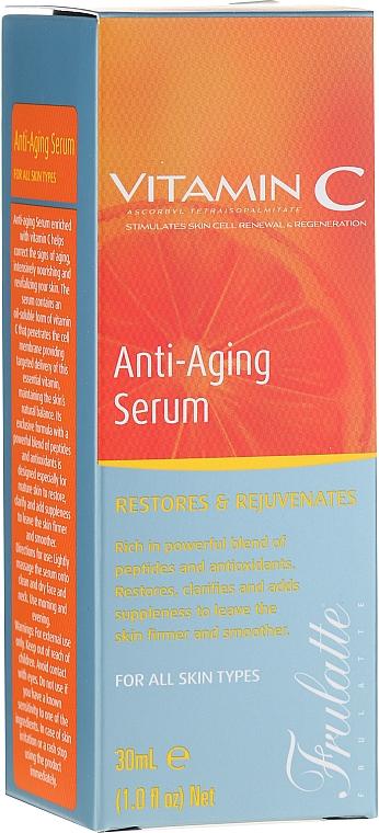 Sérum à la vitamine C pour visage - Frulatte Vitamin C Anti-Aging Face Serum