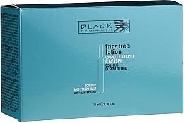 Parfums et Produits cosmétiques Ampoules anti-frisottis à l'huile de lin pour cheveux - Black Professional Line Anti-Frizz