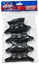 Parfums et Produits cosmétiques Pinces à cheveux mini, noires, L, 12 pcs, RA 00073 - Ronney Professional Hair Clip
