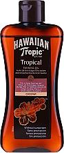 Parfums et Produits cosmétiques Lotion accélératrice de bronzage - Hawaiian Tropic Coconut Tropical Tanning Oil