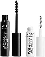 Parfums et Produits cosmétiques NYX Professional Makeup Double Stacked Mascara (mascara/10 ml + base/0,9 ml) - Duo mascara et base de mascara