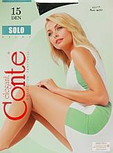Parfums et Produits cosmétiques Collant pour femme, Solo, 15 Den, nero - Conte