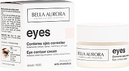 Parfums et Produits cosmétiques Crème anti-poches au beurre de karité pour contour des yeux - Bella Aurora Eye Contour Cream