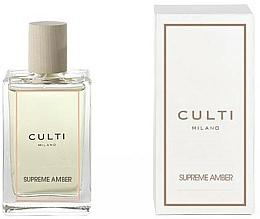 Parfums et Produits cosmétiques Spray d'ambiance, Ambre - Culti Milano Room Spray Supreme Amber