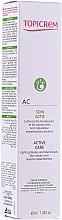 Parfums et Produits cosmétiques Crème anti-boutons et points noirs à l'acide hyaluronique pour visage - Topicrem AC Active Care Cream