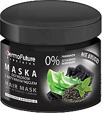 Parfums et Produits cosmétiques Masque au charbon actif pour cheveux - DermoFuture Hair Mask With Activated Carbon