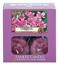 Bougies chauffe-plats parfumées Verveine - Yankee Candle Scented Tea Light Candles Verbena — Photo N3