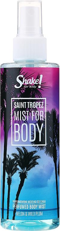 Brume parfumée pour corps - Shake for Body Perfumed Body Mist Saint Tropez Melon & Wild Plum