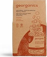 Parfums et Produits cosmétiques Comprimés de nettoyage des dents, Orange (recharge) - Georganics Natural Toothtablets Orange