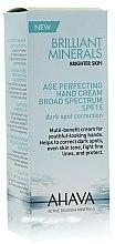 Parfums et Produits cosmétiques Crème perfectrice au jus de feuille d'aloe vera pour mains SPF 15 - Ahava Time To Smooth Age Perfecting Hand Cream Broad Spectrum
