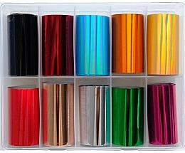Parfums et Produits cosmétiques Feuilles de transfert pour ongles, MIX 2 - Deni Carte
