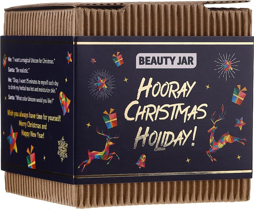 Beauty Jar Hooray Christmas Holiday - Set (gommage pour corps/130g + savon/90g)