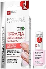 Parfums et Produits cosmétiques Soin pour ongles endommagés - Eveline Cosmetics Nail Therapy Professional Therapy For Damage Nails