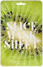 Parfums et Produits cosmétiques Masque tissu en tranches à l'extrait de kiwi pour visage - Kocostar Slice Mask Sheet Kiwi