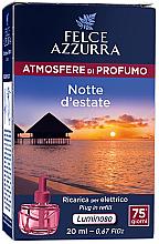 Parfums et Produits cosmétiques Recharge pour diffuseur de parfum électrique Nuit d'été - Felce Azzurra Summer Night