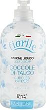 Parfums et Produits cosmétiques Savon liquide Câlins de talc - Parisienne Italia Fiorile Cuddles Of Talc Liquid Soap