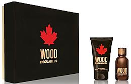 Parfums et Produits cosmétiques Dsquared2 Wood Pour Homme - Coffret (eau de toilette/30ml + gel douche/50ml)
